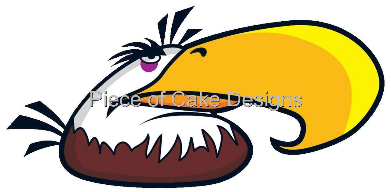 Angry Birds Mighty Eagle Edible Image Icing Cake Cupcaketopper