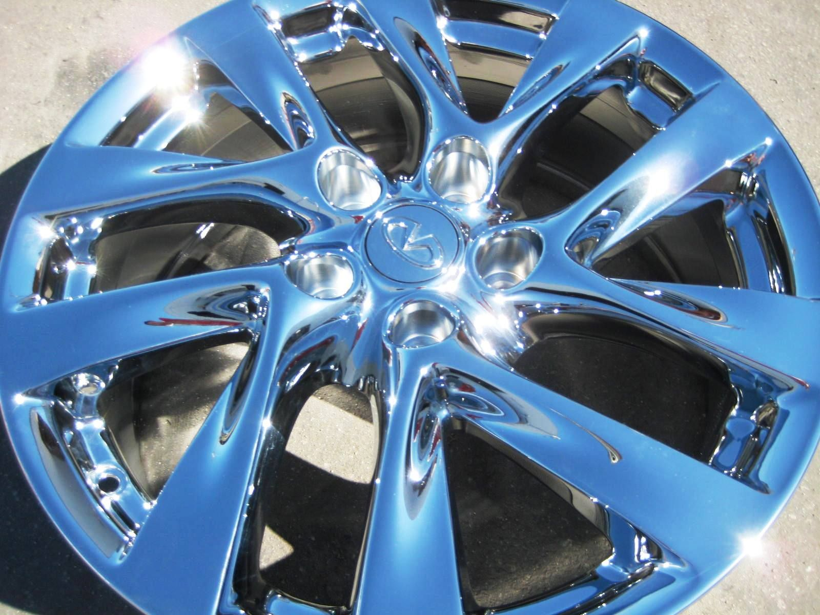 YOUR STOCK 2013 18 FACTORY INFINITTI JX35 AWD OEM CHROME WHEELS RIMS
