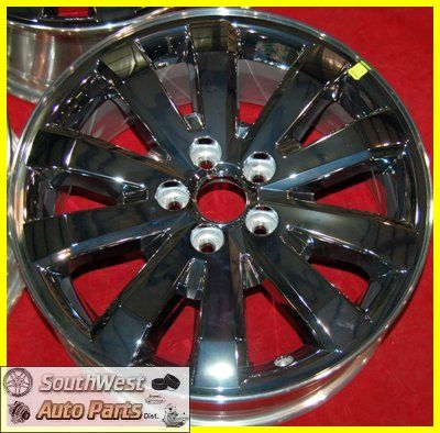 07 08 09 10 11 Ford Edge 18 Chrome Clad Take Off Wheels Factory Rims