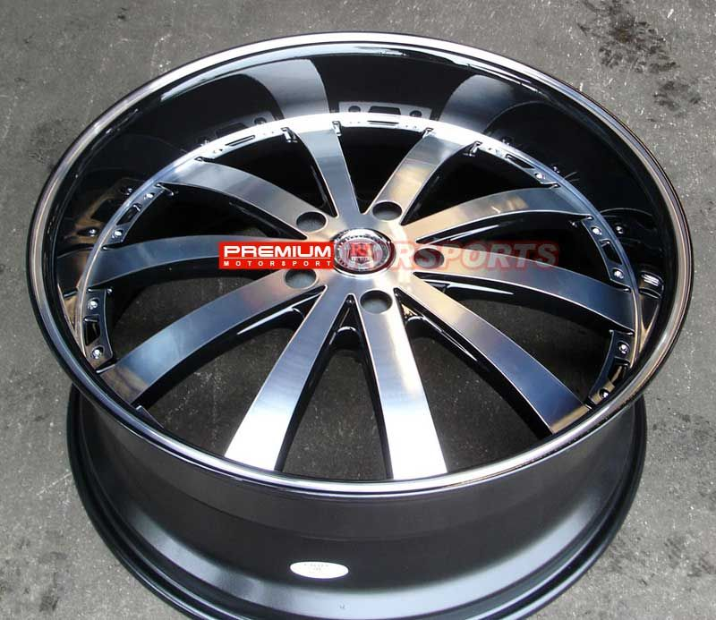 inch Wheels Rims Cadillac Escalade Tahoe Yukon Red Sport RSW77 Wheels