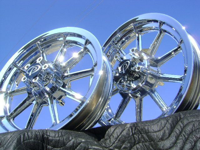 Harley Ultra Classic Roadking FLH FL Chrome Wheels Rims